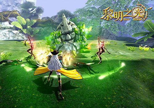 蓝港3D动作冒险手游《黎明之光》官方预约正式开启
