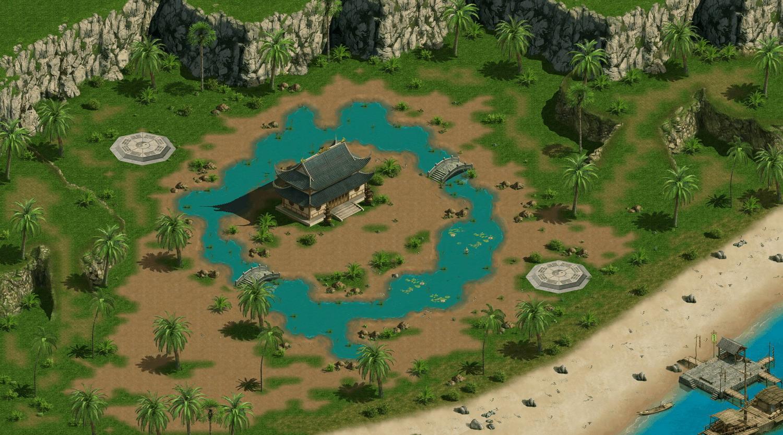 世界地图-蓬莱岛